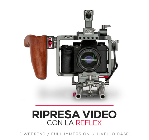 Workshop ripresa video con la reflex