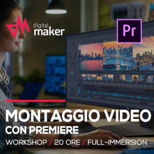 workshop montaggio video con premiere