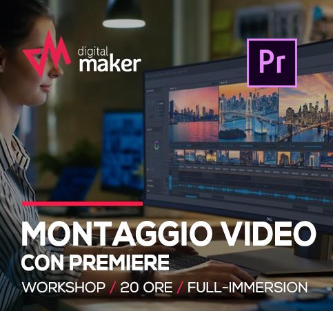 workshop montaggio video con premiere