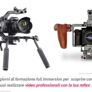 come realizzare video con la reflex