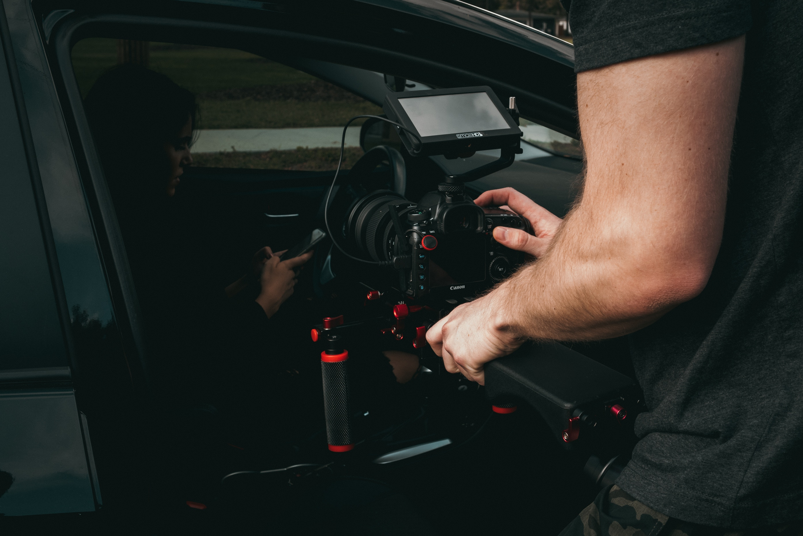 attrezzatura per ripresa video con la reflex